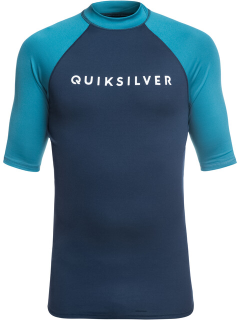 Quiksilver Always There - T-shirt manches courtes Homme - bleu/turquoise